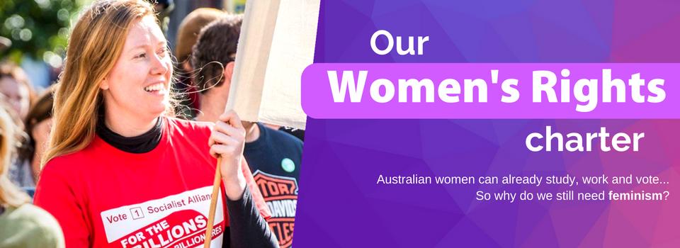 Socialist Alliance Women's Charter