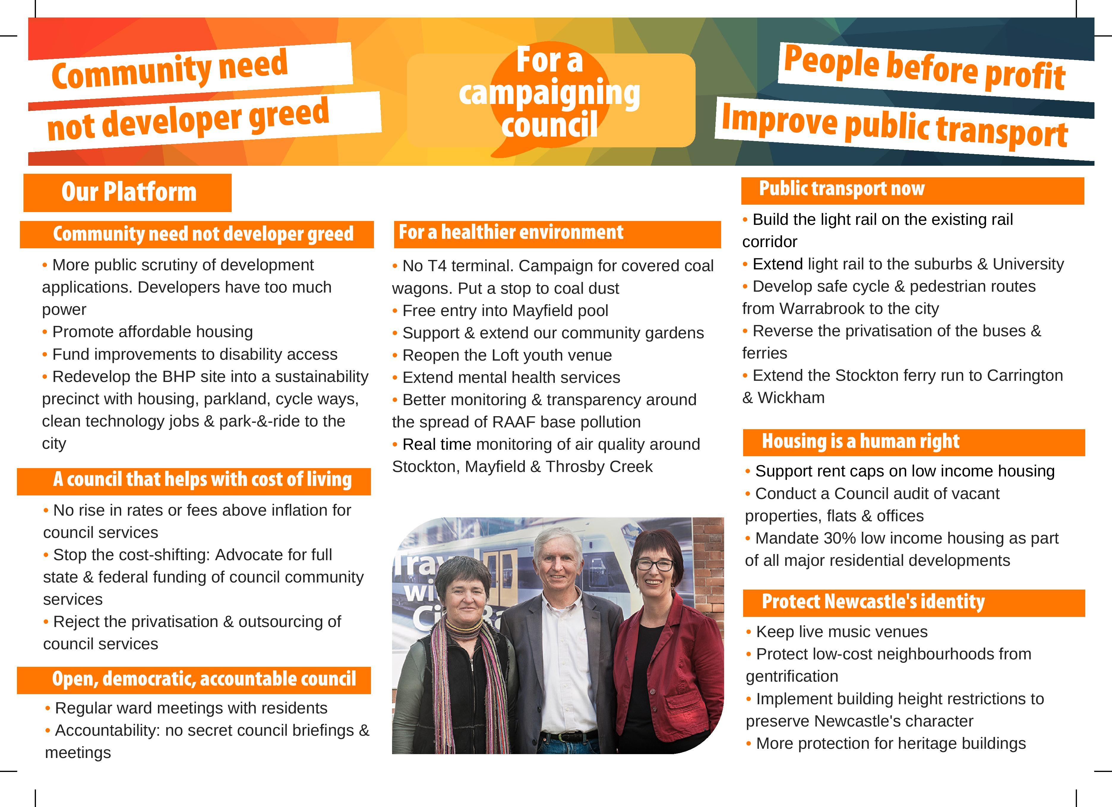Socialist Alliance campaign for Newcastle Council | Socialist Alliance