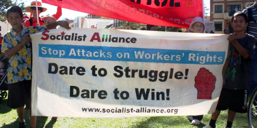 Stop attacks on workers' rights