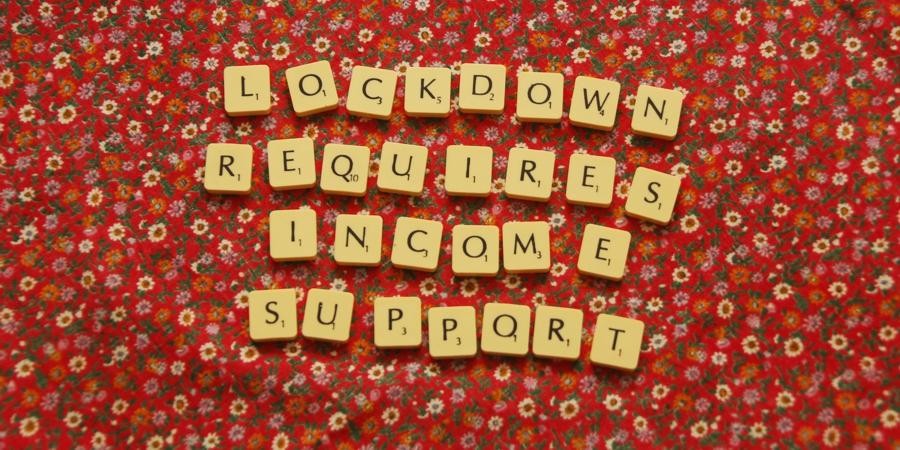 Lockdown requires income support