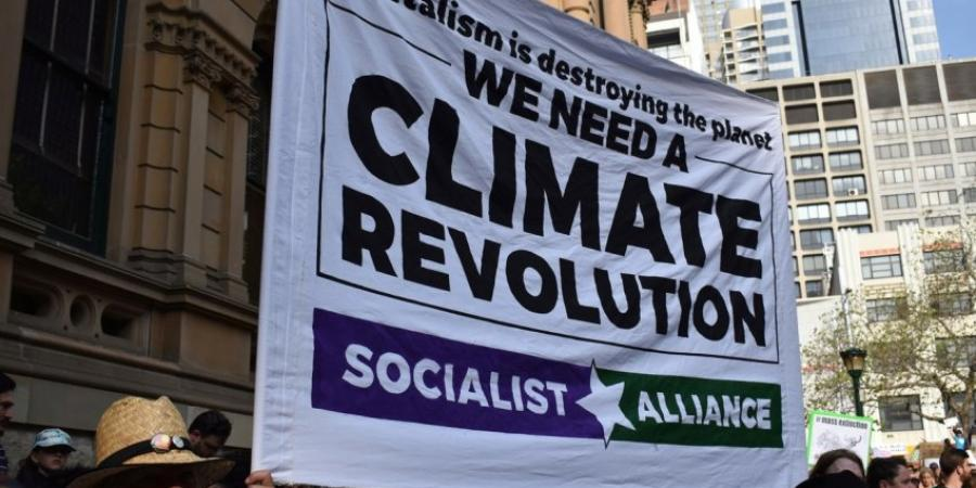 Capitalism is destroying the planet: We need a climate revolution
