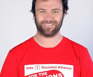 Chris Jenkins, Socialist Alliance candidadte for the seat of Fremantle