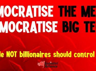Democratise the media, democratise big tech