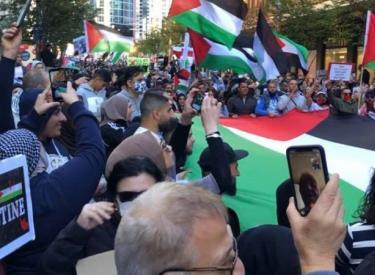 Sydney Nakba rally. Photo: Peter Boyle