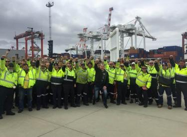 Freo Port Dock Workers