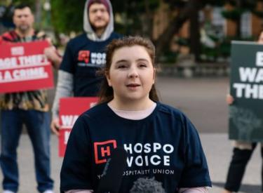 Young hospitality workers seeking their rights are up against attacks by bosses and the media